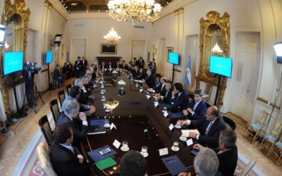 San Juan firmó el Pacto Fiscal Federal