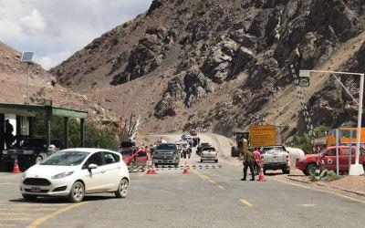 """La """"papamanía"""" no se reflejó en los pasos fronterizos a Chile"""