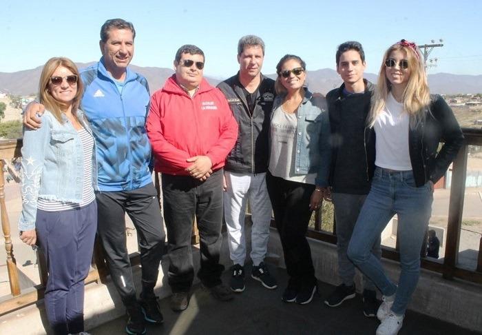 Yerko Galleguillos y Sergio Uñac se reunieron en La Higuera