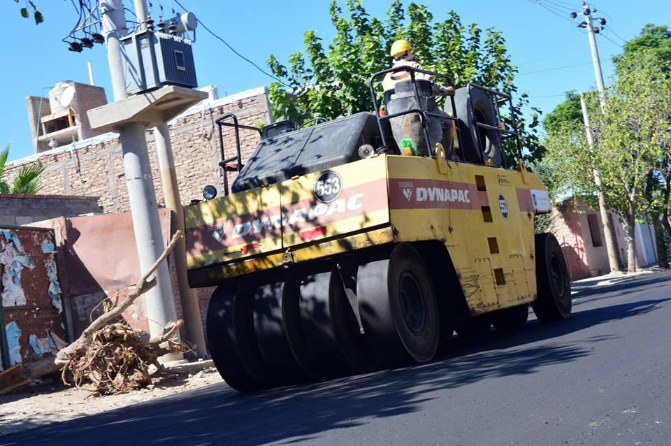 Nuevas obras de pavimentación en Capital