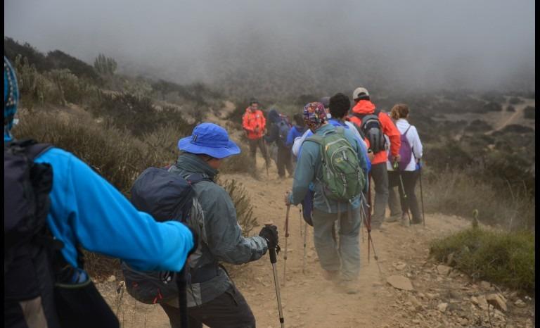 """Realizaron el prime taller """"Montañista Seguro"""" en la región de Coquimbo"""