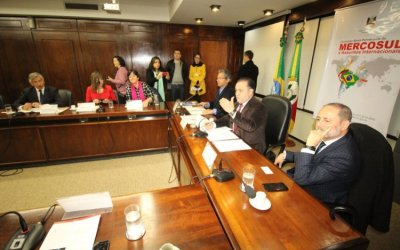 Coquimbo y Porto Alegre definen potencialidades del Túnel Agua Negra