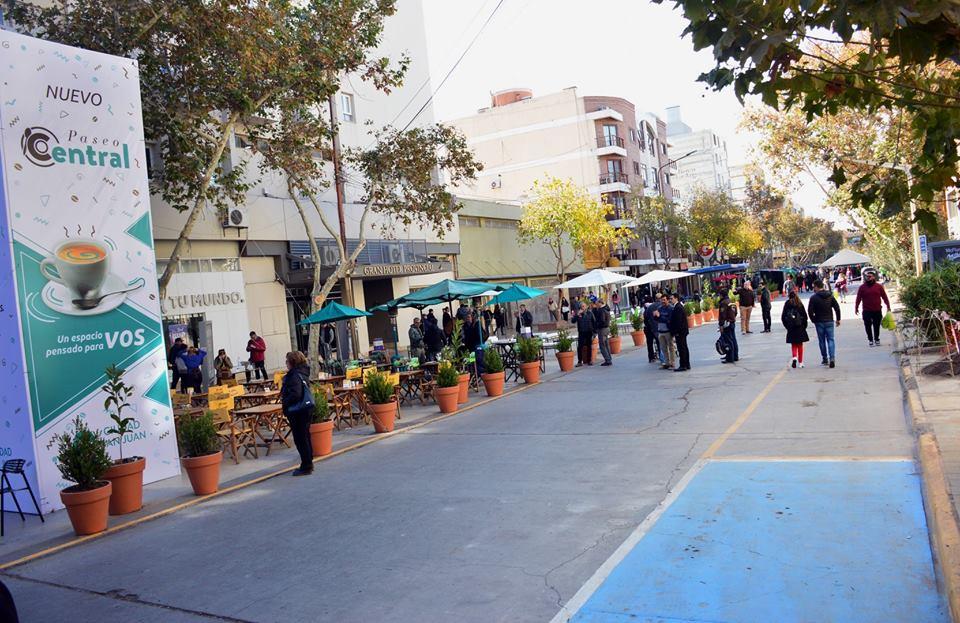 El Paseo Central quedó oficialmente inaugurado este fin de semana