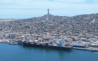 Trabajadores portuarios impulsan el desarrollo del puerto de Coquimbo
