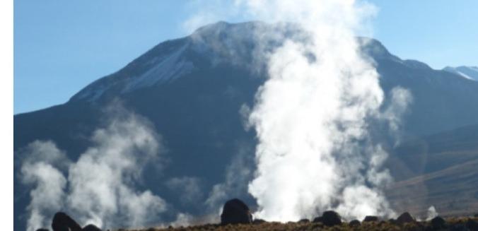Chile y Argentina con alto potencial para energía geotérmica