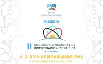 II Congreso Binacional de Investigación Científica Argentina-Chile