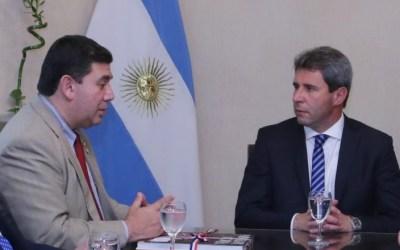 El cónsul paraguayo, interesado en la obra del Túnel de Agua Negra