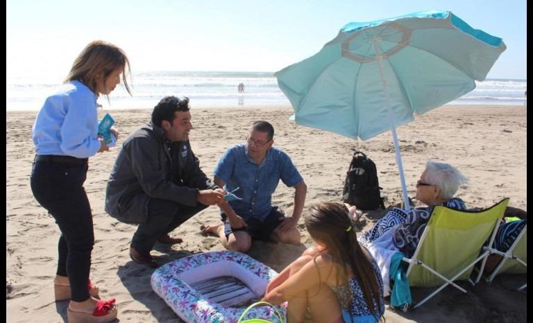Sancionarán a quienes obstaculicen el ingreso a las playas