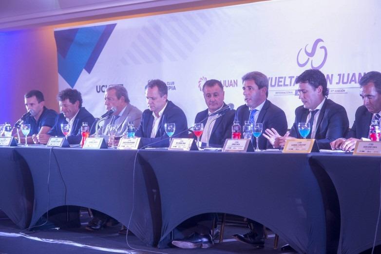 Autoridades provinciales presentaron en Buenos Aires la Vuelta a San Juan
