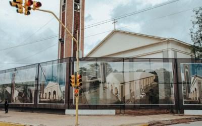 El templo de Jáchal, en vías de una cuidadosa remodelación