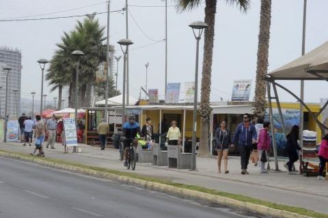 Fin de temporada: para la Avenida del Mar fue más positivo febrero que enero