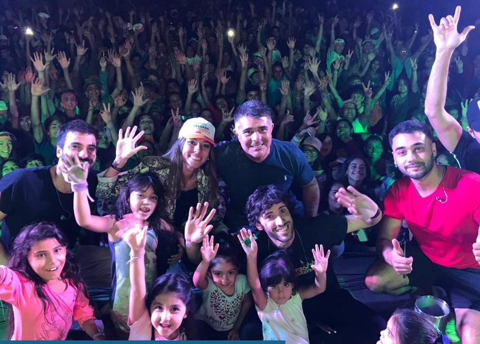 Una fiesta de jóvenes invadió Rivadavia