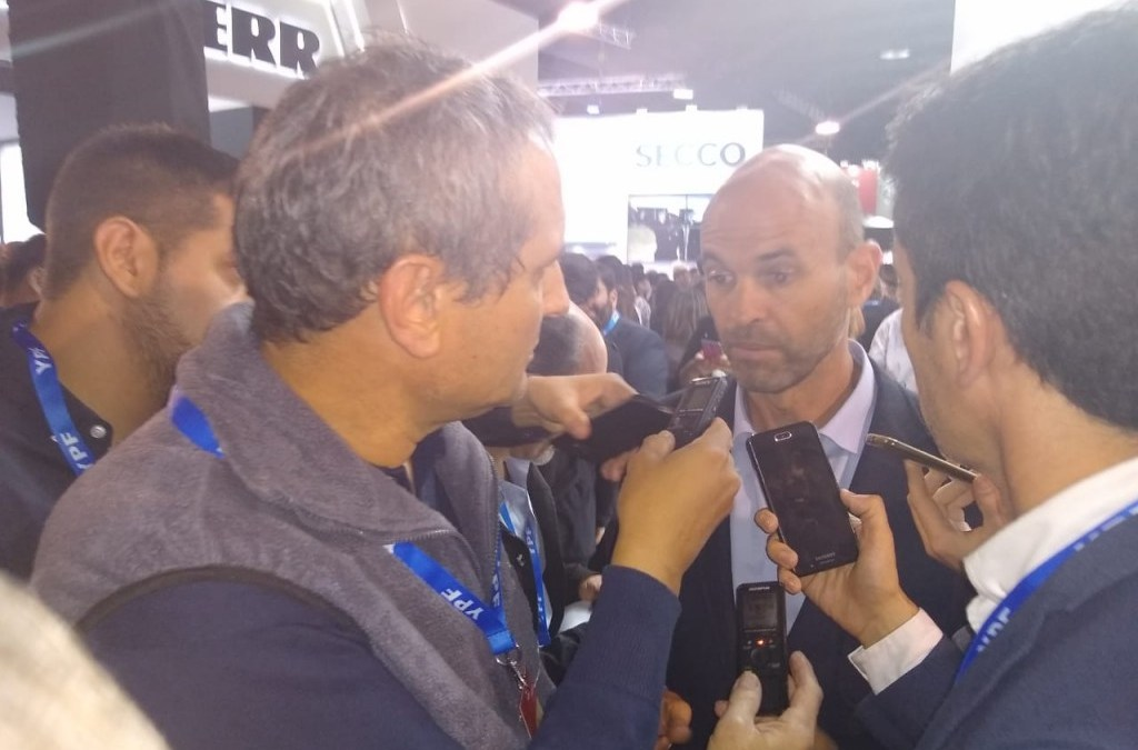 Le preguntaron al Ministro de Transporte de Argentina sobre Agua Negra, pero respondió sobre el Cristo Redentor