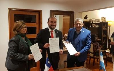 Municipio de Coquimbo afianza lazos con Universidad de San Juan