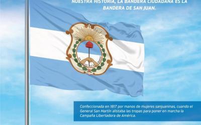 San Juan tiene una nueva insignia oficial: la Bandera Ciudadana
