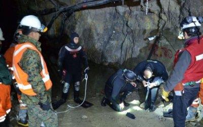 Se derrumbó una mina en Chile y quedaron tres personas atrapadas