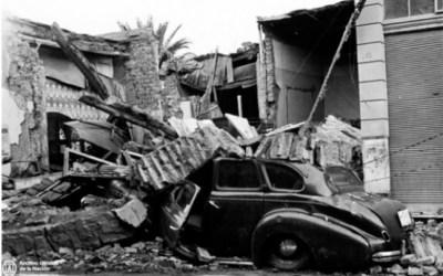 Inaugura una muestra fotográfica sobre el terremoto de 1944 en San Juan