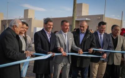 Nuevo barrio para 38 familias en Rivadavia