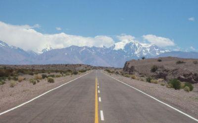 Corredor Andino: Reactivan pavimentación de Ruta 149, entre Uspallata y Barreal