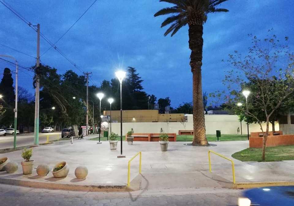 Municipalidad de Rivadavia inauguró un nuevo paseo verde