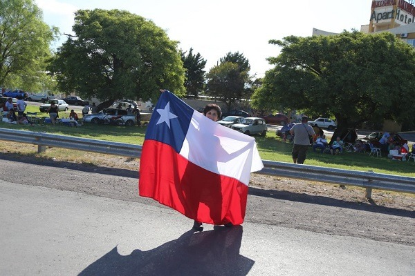 Una multitud acompañó el cierre de la Vuelta a San Juan en la Circunvalación