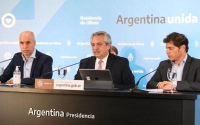 El embajador chileno en Argentina advirtió un error en los gráficos que utilizó Fernández