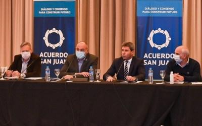Con 370 propuestas, terminó la etapa de las mesas sectoriales del Acuerdo San Juan