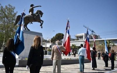 Autoridades sanjuaninas conmemoraron la Independencia de Chile