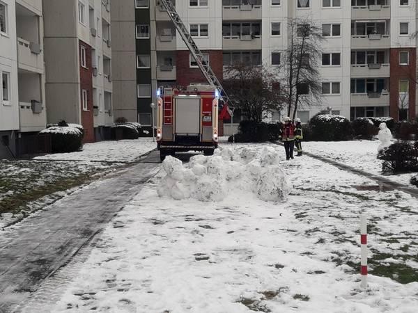 Kchenbrand verursacht hohen Schaden  Feuerwehr