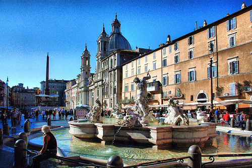 Piazza Navona a Roma