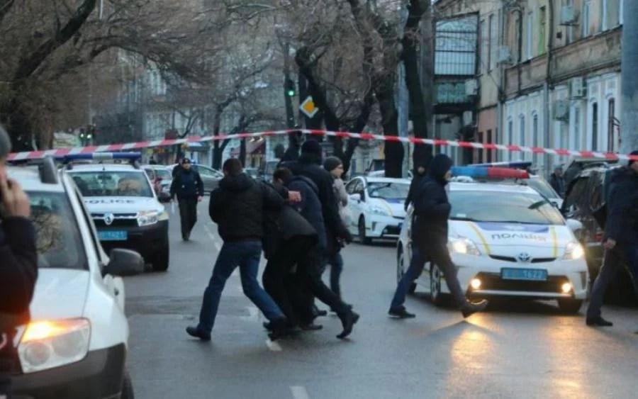 В центре Киева перестрелка, есть погибшие