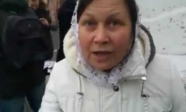 Московські прихожани заявили, що російські терористи направлені в Україну богом