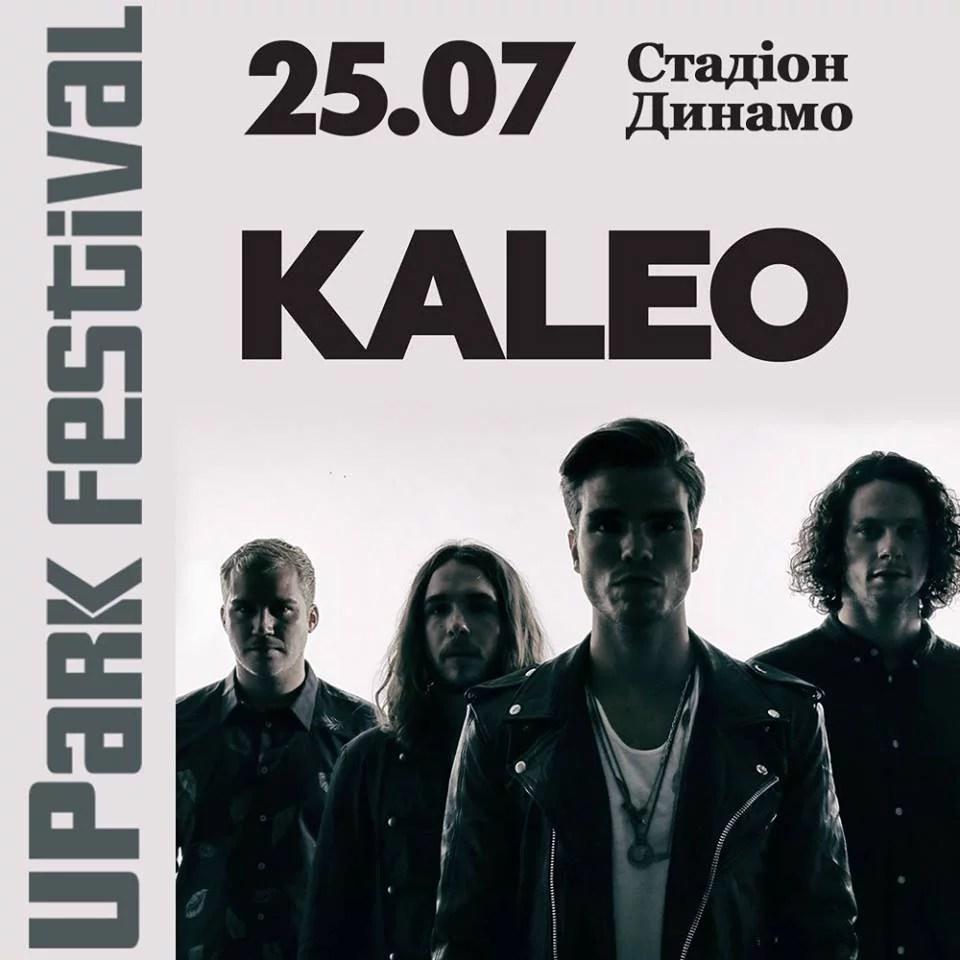 Kaleo on UPark Festival 2018