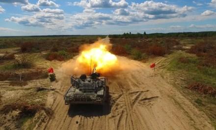Т-72АМТ в дії: видовищні випробування нового українського танка – ВІДЕО