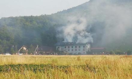 На Закарпатті горить дитячий табір, в якому відпочивають запорізькі школярі – відео