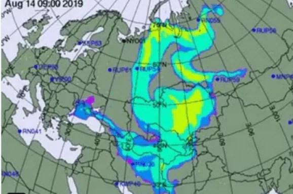 Через вибухи в Росії, над Україною нависла потужна радіаційна хмара – відео
