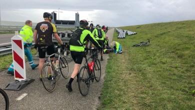 Photo of Afsluitdijk even open voor IJsselmeer Challenge fietsers