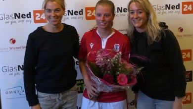 Photo of Zaalvoetbaldames Zeemacht bekeren door