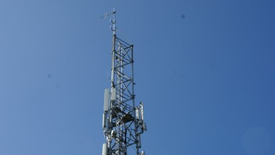 Photo of Werkzaamheden aan zendmast Noordkop Radio