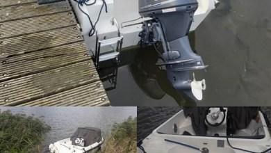 Photo of Buitenboordmotor gestolen, wie heeft info?