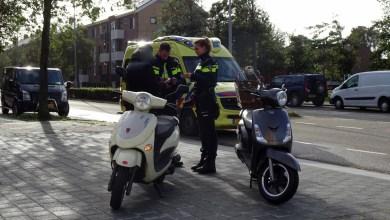 Photo of Scooterrijder gewond na bijna aanrijding