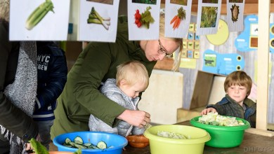 Photo of Peuters proeven gezonde dingen bij de Helderse Vallei