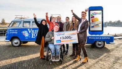 Photo of 3.000 euro voor Sjaak Pach van Stichting VriendenLoterij