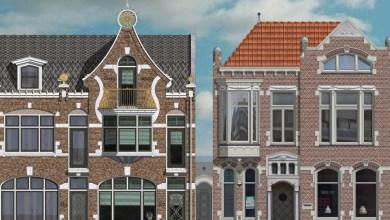 Photo of Nieuwe woning in stijl Anton Pieck