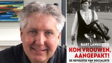 Photo of Historicus Bart Lankester bij Vrouwen van Nu Wieringen