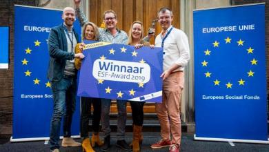 Photo of Jeugd Werkt winnaar ESF Award 2019