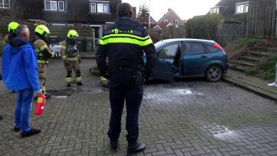 Photo of Autobrand, buurt grijpt snel in