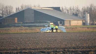 Photo of Vliegtuigje maakt noodlanding bij vliegveld Middenmeer
