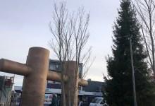 Photo of 14 meter hoge kerstboom in Heldere binnenstad