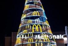 Photo of Mega Kerstboom bij McDonald's Den Helder
